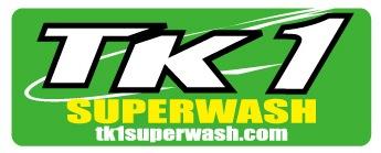 当店はTK1SUPERWASHの総代理店です